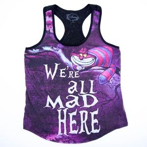 Disney Alice in Wonderland Cheshire Cat Tank Top